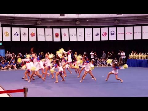 ACIC 2017 65 Dance Elite Singapore Team Cheer Freestyle Pom Junior [HD]
