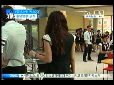 [news] drama 'mischief kiss' Kim Hyun-Joong jung so-min('장난스런 키스' 촬영 현장)