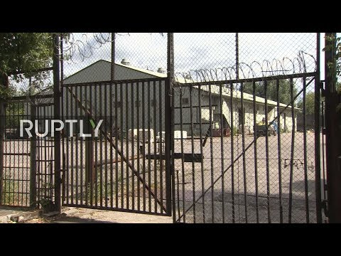 LIVE from US storage facilities in Moscow following Russia's response to US sanctions