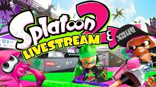 Splatoon 2 Global Tesfire Livestream