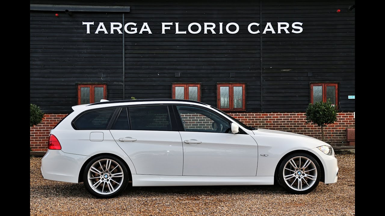 bmw 335d m sport touring automatic in alpine white london uk youtube. Black Bedroom Furniture Sets. Home Design Ideas