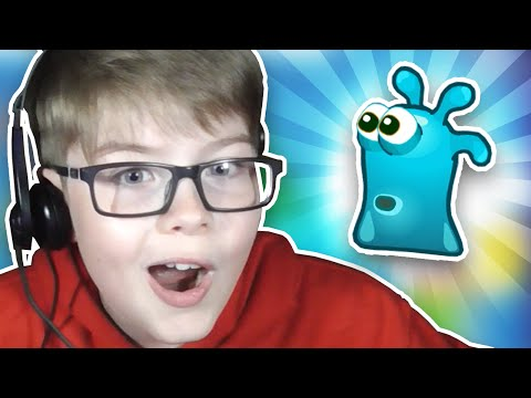 I'M A LITTLE SLIMY GUY!!! Free Online Games for Kids #1