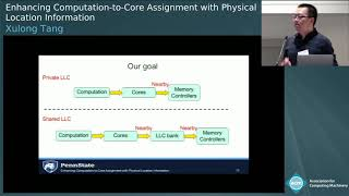 Enhancing Computation-to-Core Assignment with Physical Location Information