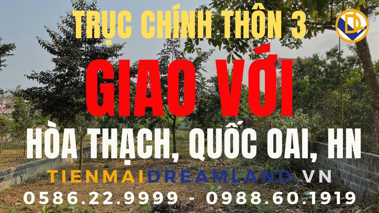 image ĐẤT NỀN HÒA LẠC | 321m2 tại HÒA THẠCH, QUỐC OAI, HÀ NỘI