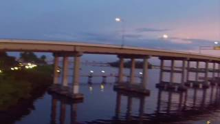 River sunset over Tamiami Trail