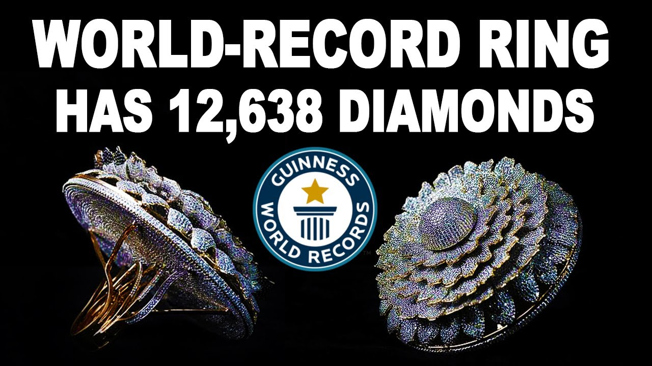 Guinness World-Record Ring has 12638 Diamonds | Renani Jewels | Wonder world | INTERESTING VIDEOS