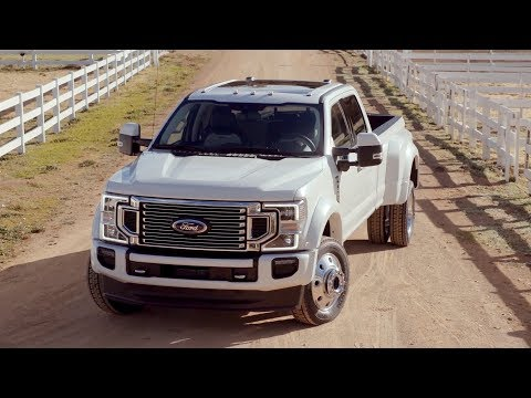 2020 Ford F-450 Super Duty Limited | Exterior, Interior