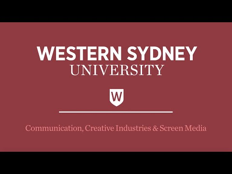 Communication, Creative Industries And Screen Media At Western