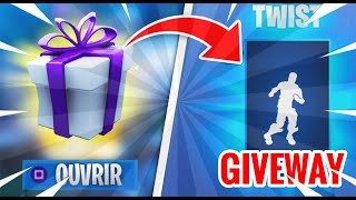 [FR] GIVEAWAY AT 100 ABOS / LIVE FORTNITE / 335 TOP1