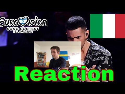 Mahmood - Soldi // Italy (Reaction)