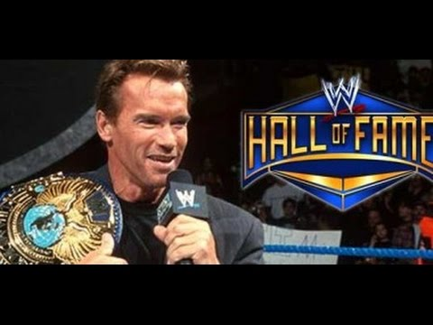 ARNOLD SCHWARZENEGGER JOINING THE WWE HALL OF FAME