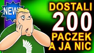 Olaboga - dostali 200 paczek a ja nic - world of tanks