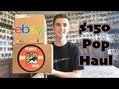$150 Funko Pop Package From Ebay