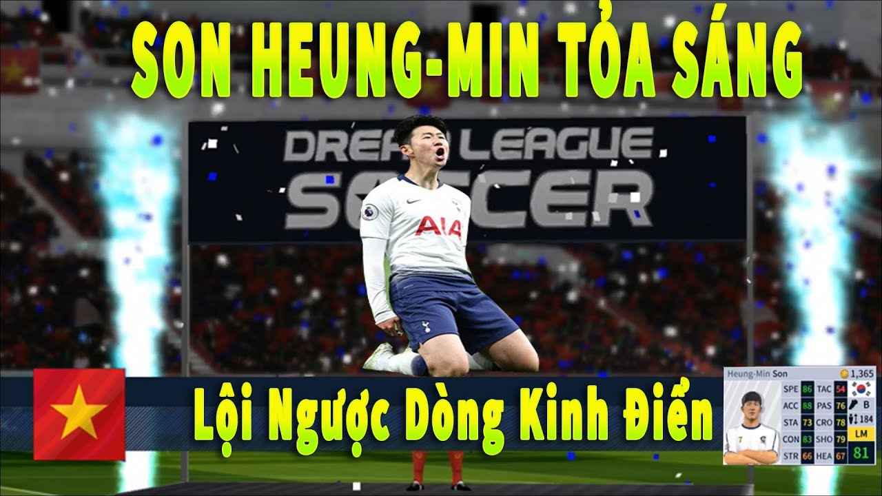 Dream League Soccer 2019 Đá online Ra mắt Son Heung Min #27