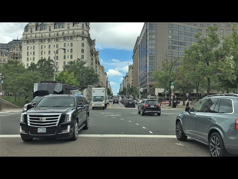 Washington DC 4K - The US Capital - Driving Downtown - USA