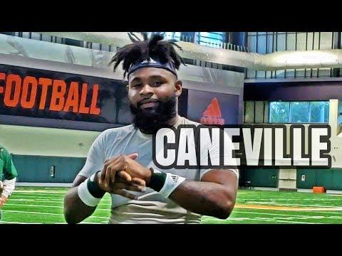 Caneville - Miami Hurricanes Spring Practice Day 2
