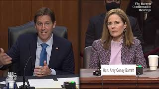 Amy Coney Barrett can't name five freedoms in the First Amendment