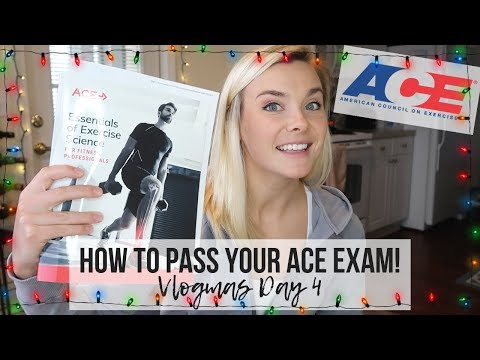 HOW TO PASS YOUR ACE PERSONAL TRAINING EXAM! | TRAINING TIPS TUESDAY |
