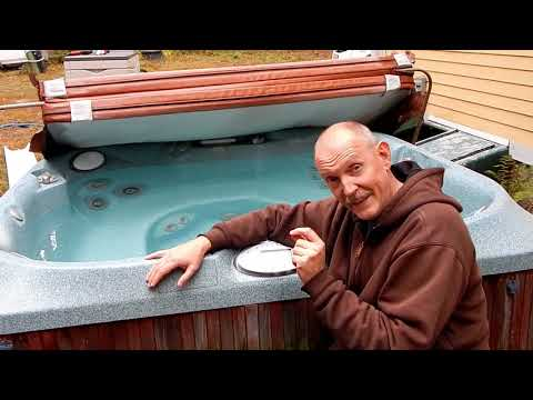 Jacuzzi Sundance Hot Tub Temperature Sensor Error Repair