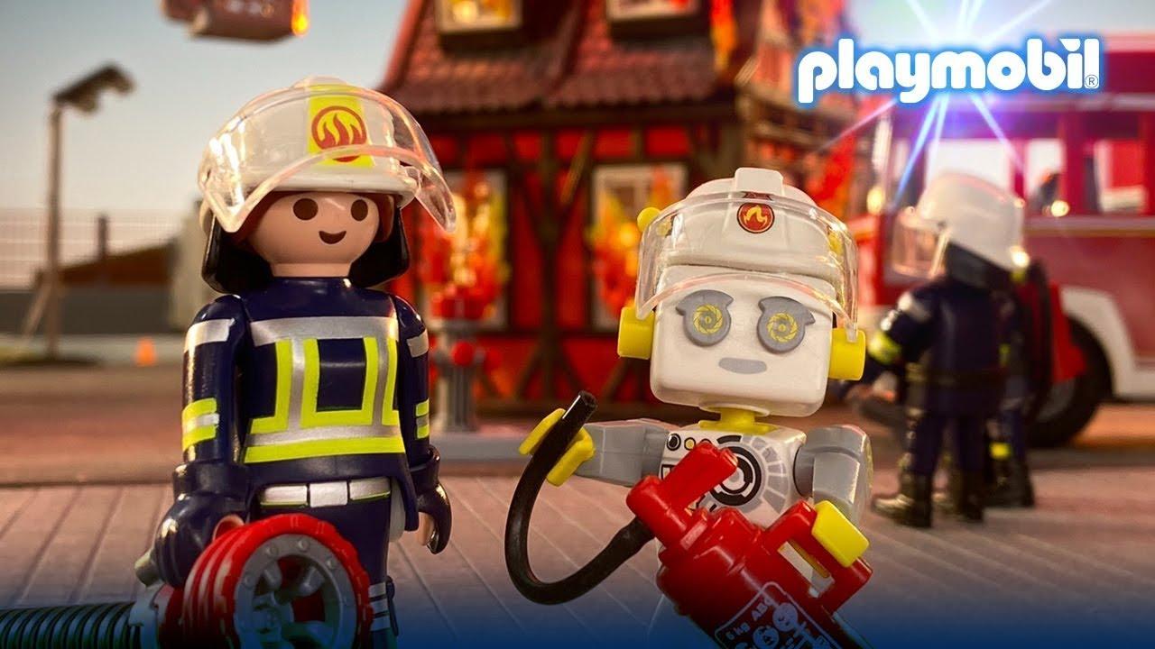 Ρωτήστε τον ΡΟΜΠερτ: Τί συμβαίνει στην Πυροσβεστική; 🧑🚒 I PLAYMOBIL