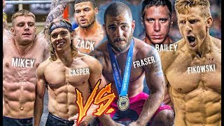 The TEAM vs CROSSFIT GAMES ATHLETES (Crossfit Open 18.2)