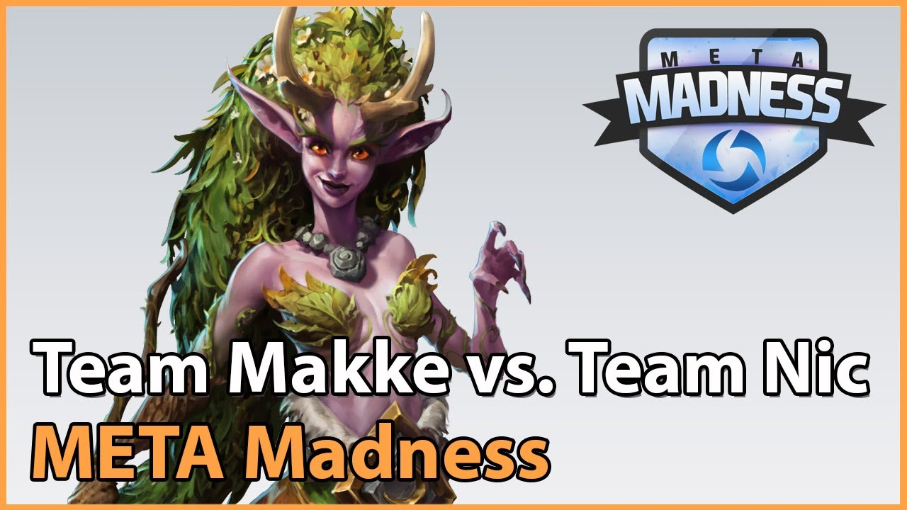 ► Team Makke vs. Team Nic - META Madness Playoffs - Heroes of the Storm Esports