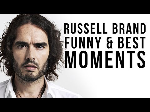 Russell Brand's Best and Funniest Moments│Funny Videos 2016 NEW