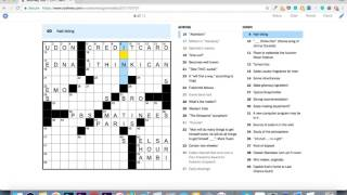 How I Mastered The Saturday Nyt Crossword Puzzle In 31 Days By Max Deutsch Medium
