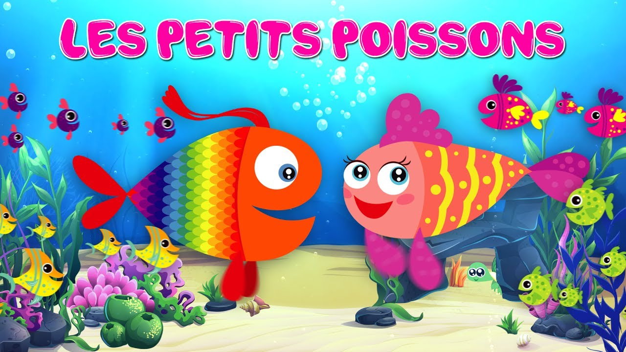 les petits poissons dans l 39 eau comptine avec paroles youtube. Black Bedroom Furniture Sets. Home Design Ideas