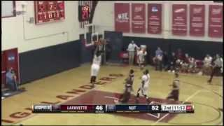 NJIT Play of Game vs. LC (Tim Coleman Dunk)