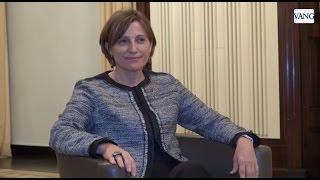 Carme Forcadell presidenta del Parlament de Catalunya