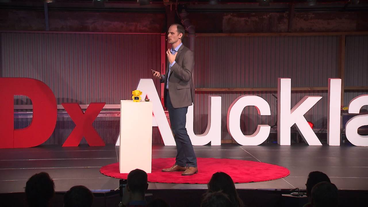 Teaching about money in a cashless society | James Bergin | TEDxAuckland