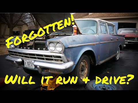AMC Rambler First Start & Clean Up - Vice Grip Garage EP22