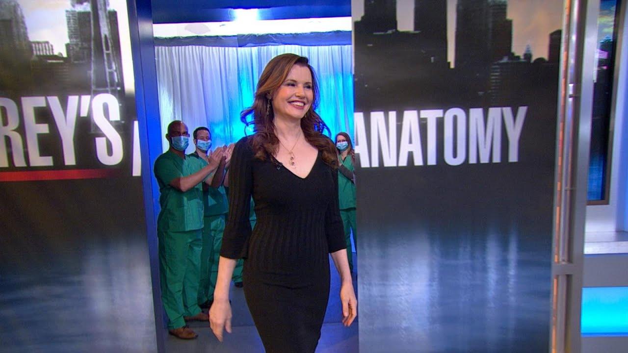 Geena Davis Gets Medical in \'Grey\'s Anatomy\' - YouTube