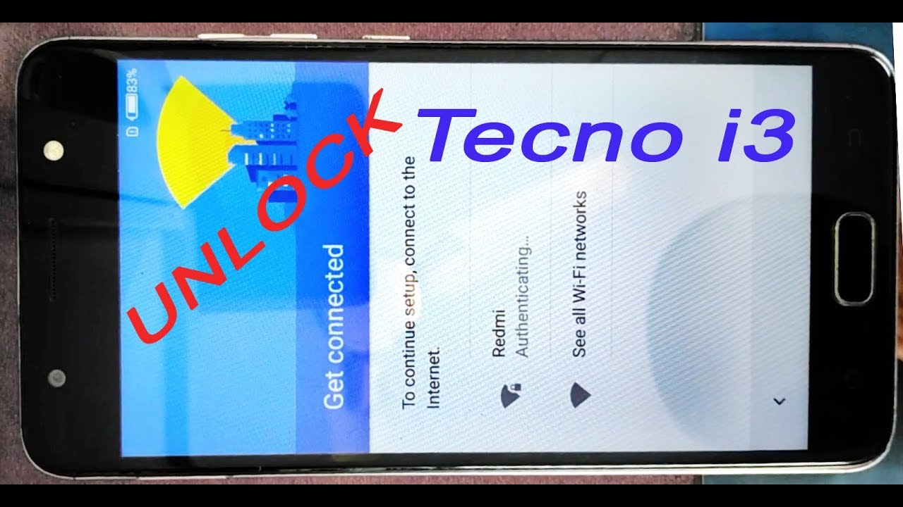Tecno i3 mobile frp lock bypass without computer or otg