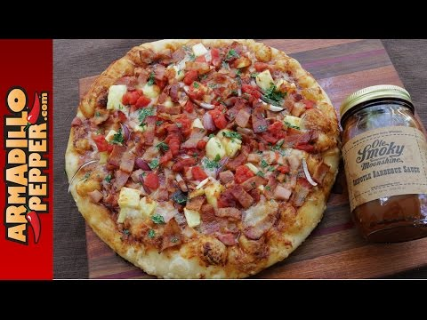 grilled-hawaiian-chipotle-bbq-pizza-with-ole-smoky-tennessee-moonshine-bbq-sauce