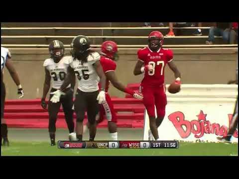 2018 Ncaa Football Unc Pembroke Braves Winston Salem State Rams