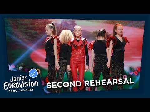 Manw - Perta - Second Rehearsal - Wales - Junior Eurovision 2018