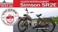 Simson SR2 E | Volkers Mopeten Kabinett Folge #8: Simson SR2 E Bj. 1964