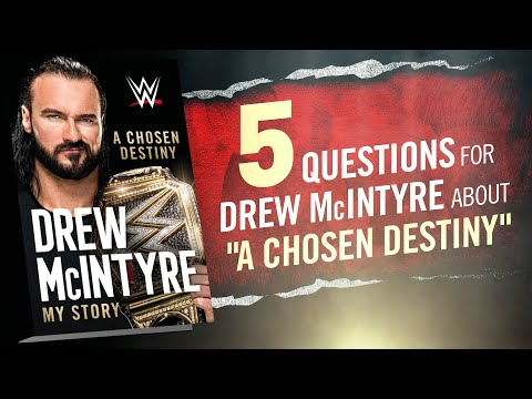 Drew McIntyre answers questions about his new book