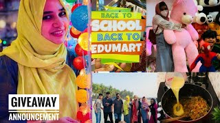 VLOG|Shopping|Outing|Cooking|പിന്നെ😍| Edumart Hyper market|Tastetours by Shabna Hasker
