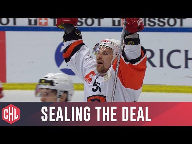 Janne Kolehmainen seals the deal for JYP Jyväskylä!