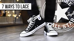 7 WAYS TO LACE CONVERSE CHUCK TAYLOR ALL STAR HIGH TOP | I AM RIO P.