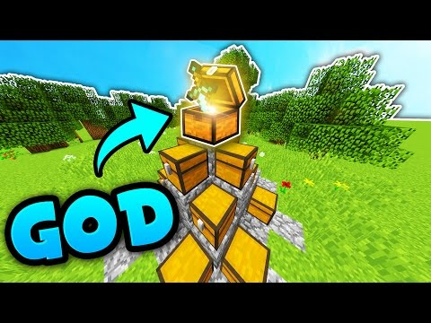 MINECRAFT HUNGER GAMES GOD SWORD!