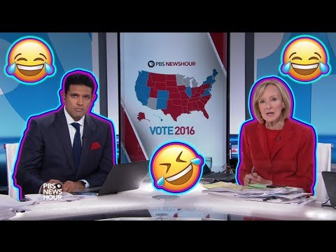 The moment PBS NewsHour realizes Donald Trump has WON THE ELECTION