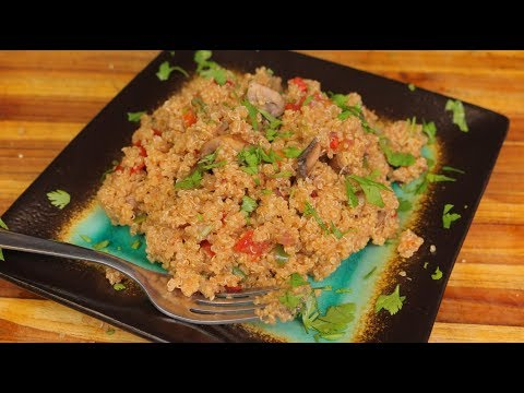 Quinoa Recipe - wfpb clean eating - plant-based diet