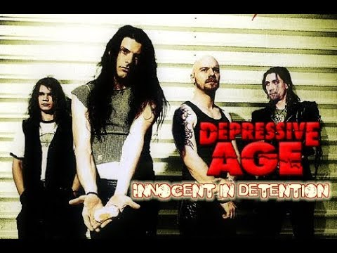 Depressive Age - Innocent in Detention - Lyric Video