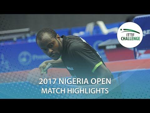 2017 Nigeria Open Highlights: Aruna Quadri vs Bode Abiodun (R16)