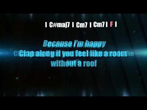 Pharrell Williams - Happy - Lyrics and chords