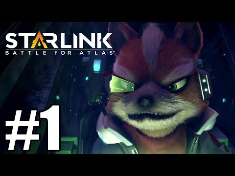 Starlink: Battle For Atlas  Gameplay Walkthrough Part 1 ( Star Fox)